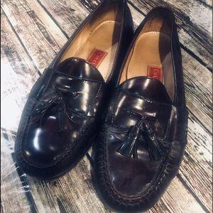 Men's sz 13 E Cole Haan tasseled loafers in wide